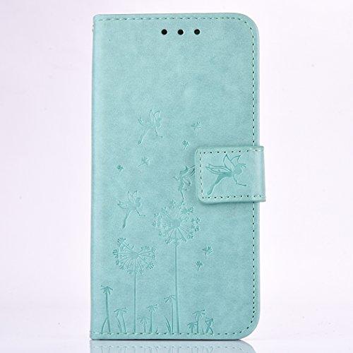 Huawei Y5 II / Y5 2 Light Blue Leder Handyhülle, Huawei Y5...