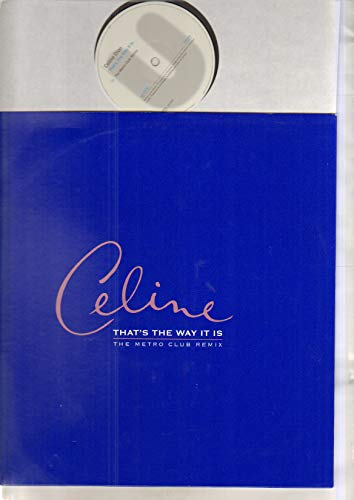 CELINE DION - THAT'S THE WAY IT IS - 12 inch vinyl