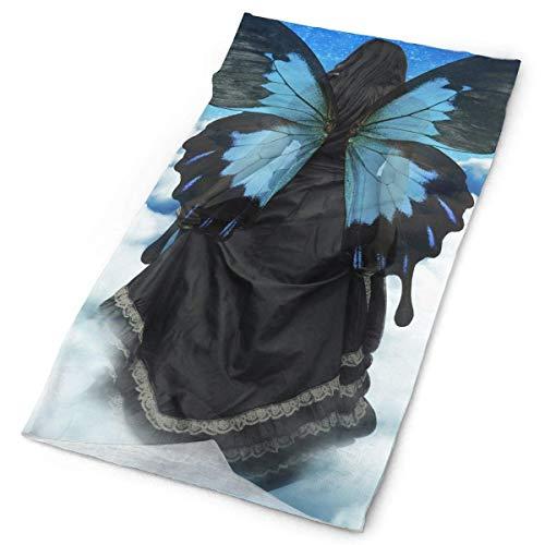 Stirnband Maske surreale Schmetterling Kunst Landschaft Magic Headwear Multi-Use-Sport Haarband Outdoor Schal Radfahren Coverchief Stirnbänder Seamless Magic Halstuch 25x50cm -
