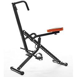 Apolyne Abdo Crunch Ejercitador Total de Fitness, Negro / Rojo, Única