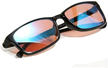 PILESTONE TP-012 Farb-Blind-Korrekturgläser für Rot / Grün Blindheit (Farbe Blind Gläser) für Medium / Strong