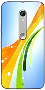 Snoogg Beauty In The Day 2471 Designer Protective Back Case Cover For Motorola Moto X Style