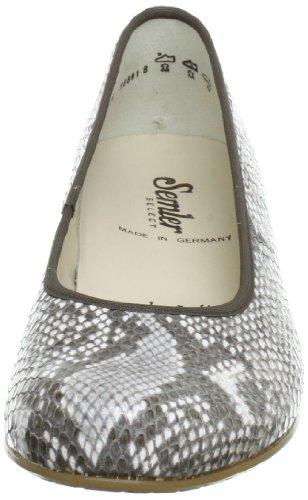Semler C4200061031, Escarpins femme Blanc (Natur 031)
