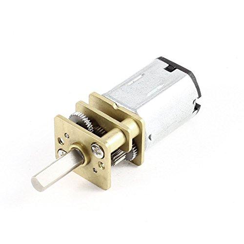 N20 10mm Länge Welle DC 3V-12V 30-200RPM Geschwindigkeitsreduzierung Getriebemotor