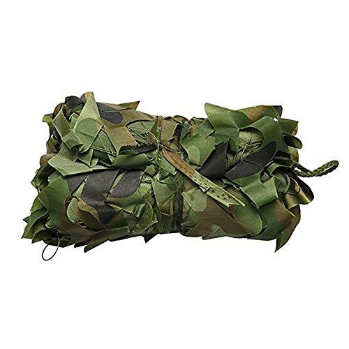 Shade net ZXMEI Grünes Tarnnetz - Jagd-Schießnetz Verfügbar Woodland Camouflage Jagd-Schießnetz Camping Markise Ausblenden (Size : 8x8m)