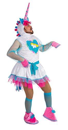 Witziges Einhorn-Kostüm Einheitsgröße