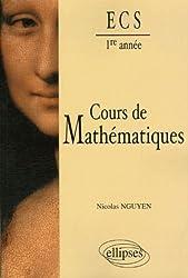 Cours de Mathématiques 1e année ECS