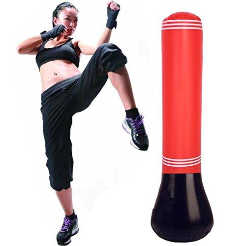sack für Erwachsene Boxstand Kickboxen Trainingsgeräte Boxsack Punchingball Ständer (Aufblasbarer Boxsack Für Erwachsene)