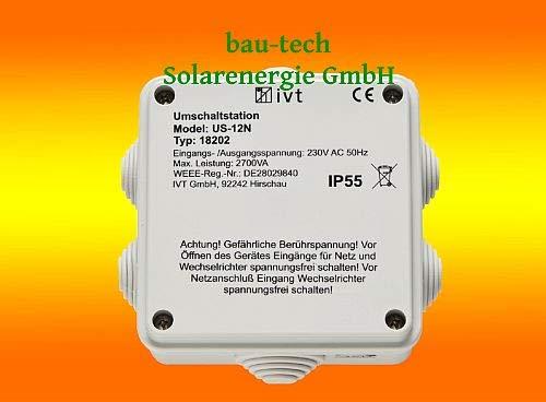 Netzumschaltung / Vorrangschaltung 12 Ampere / 230Volt
