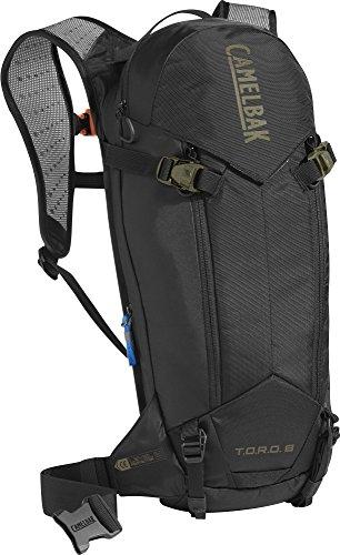 CamelBak T.O.R.O. Protector 8 Trinkrucksack Dry Black/Burnt Olive 2018 Outdoor-Rucksack Damen Herren