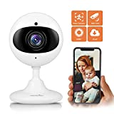 WiFi Camera 1080P Wansview,Home Security Camera, Surveillance Indoor IP Camera for Baby/Elder/Pet/Nanny Monitor