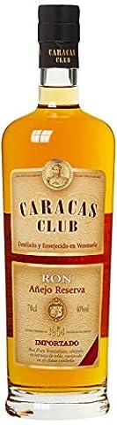 Caracas Club Anejo Reserva Rum, 1er Pack (1 x 700 ml)
