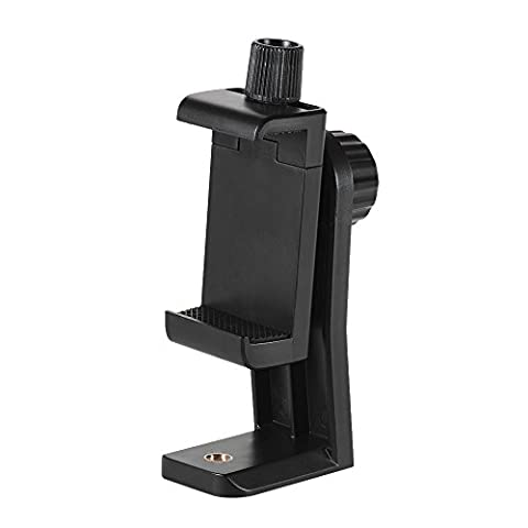 Andoer CB1 Plastic Smartphone Stativ Adapter Handy halterung stativ Clip Holder Stand Support Clamp Frame Bracket Mount for iPhone 7/7s/6/6s for Samsung Huawei Cellphone Selfie
