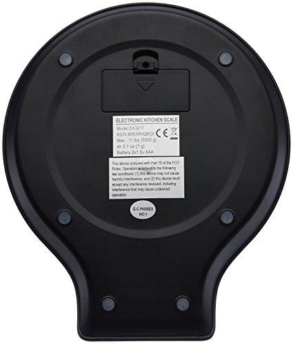 Zoom IMG-3 amazonbasics bilancia digitale da cucina