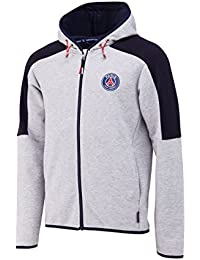 PARIS SAINT GERMAIN Veste Sweat zippéé à Capuche PSG - Collection Officielle Taille Homme