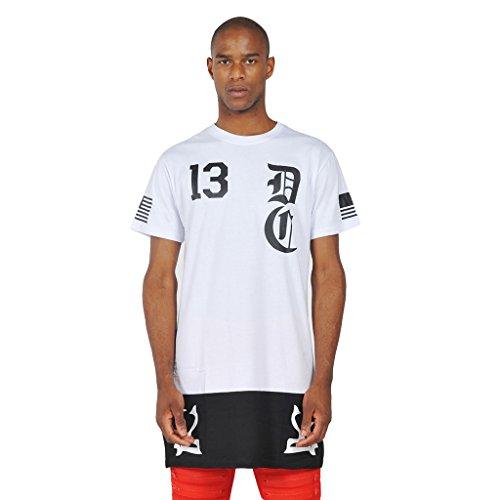 Pizoff -  T-shirt - Maniche corte  - Uomo K4107-White XXX-Large