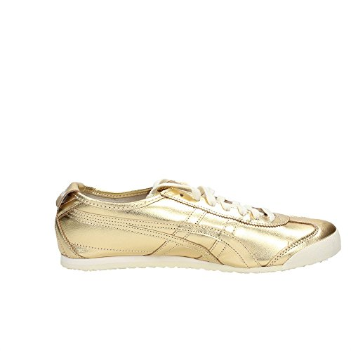 Asics Mexico 66, Sneakers basses mixte adulte gold