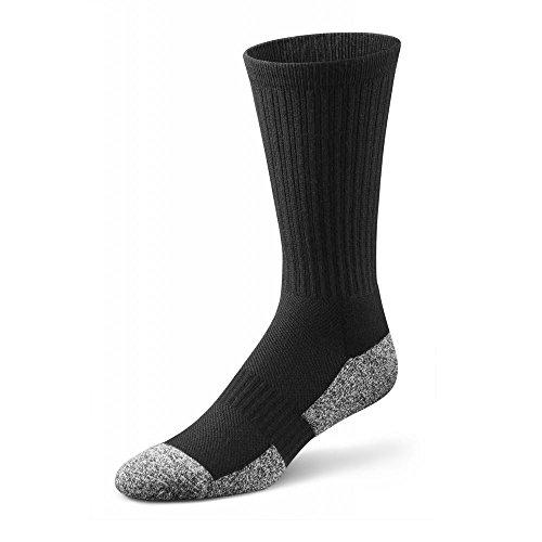 Dr. Comfort Crew ganze Länge Socken | Bamboo-Polster | Diabetes & Arthritis Komfort (Länge Diabetiker Socken Für)