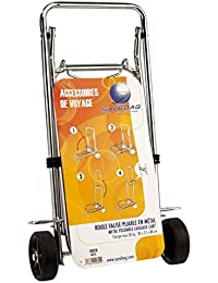 Savebag - Roule Valise Pliable / Foldable Trolley Cart - tendeur fourni