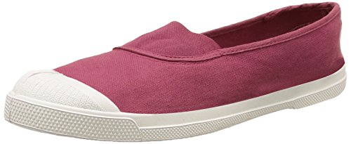 BensimonF15002C157 - Sneaker Donna , Rosso (Rouge (313 Bourgogne)), 40