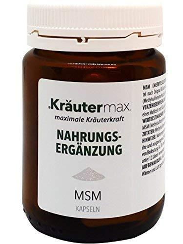 MSM 50 Kapseln, Vorratspackung für 50 Tage, MSM Kapseln hochdosiert mit 780 mg, MSM Kapseln vegan, lactosefrei, gelatinefrei, MSM Kapseln kaufen in Premiumqualität, MSM Kapseln Schwefel organisch