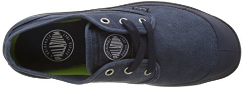 Palladium Damen Pampa Oxford Lp Sneaker Blau (Parisian Night/Silver Birch)