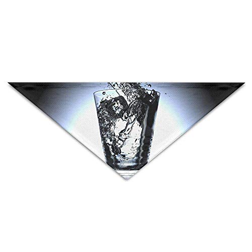 Ice Cube Kostüm - Gxdchfj Pet Triangle Bandana Water Cup Ice Cubes Washable Dog Puppy Scarf Bib Babys Neckerchief Accessories