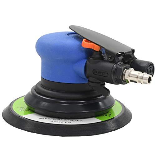 Festnight Druckluft-Schwingschleifer 150 mm Schleifgerät Polierer Werkzeug Drehzahl 10500 U/min