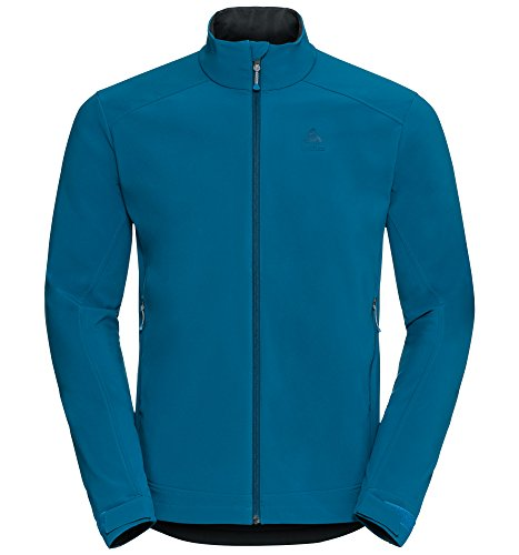 Odlo Herren Jacket Softshell Lolo Softshelljacken, Mykonos Blue, XL