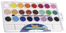 Jovi - Acuarela 24 colores estuche de plastico (5 unidades)