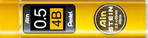 pentel-c279-hbo-ain-stein-recambio-de-minas-4b-grosor-de-trazo-de-05-mm-40-minas