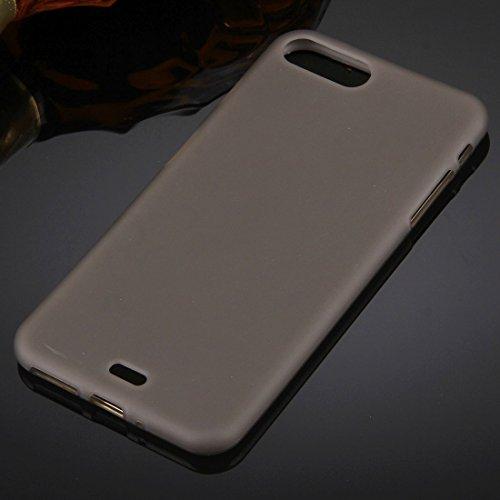 Hülle für iPhone 7 plus , Schutzhülle Für iPhone 7 Plus Solid Color TPU Schutzhülle ,hülle für iPhone 7 plus , case for iphone 7 plus ( Color : Magenta ) Coffee