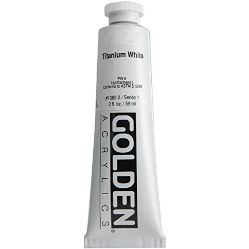 Pro-Art Wandbild Golden Heavy Body Acrylfarbe 2Oz -Titanium weiß