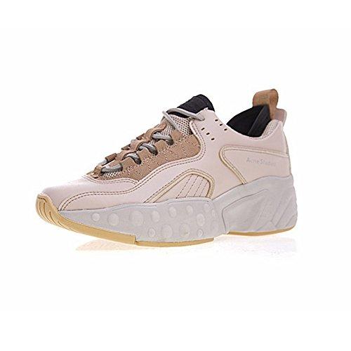 Super Wear Acne Studios Manhattan Sneaker Chaussures de Sport Femmes Rose Clair