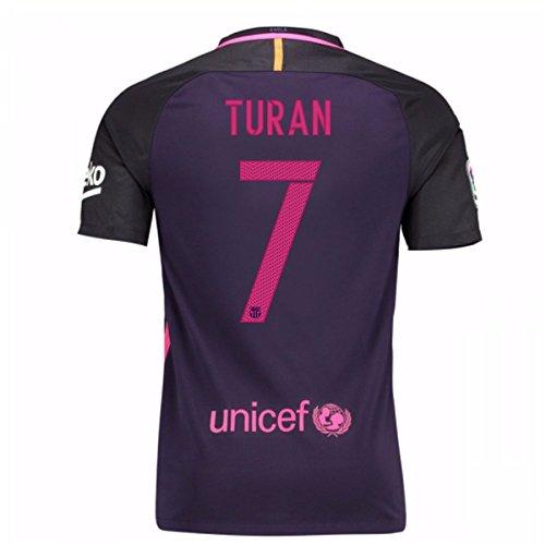 Auswärtstrikot FC Barcelona 2016/2017 - Offizielles Trikot Nike, Größe XL Turan 7