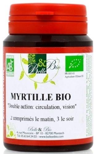 BELLE ET BIO - Myrtille bio - 200 Gélules