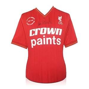 Ian Rush Signed Liverpool 1986 Double Winning Football Shirt