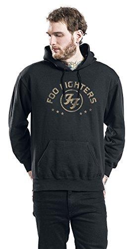 Foo Fighters Arched Star Kapuzenpulli schwarz Schwarz