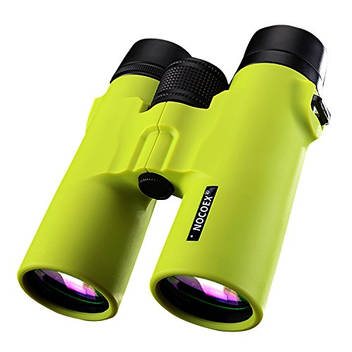 NOCOEX® 8X42 HD Fernglas - Binoculars Militär Teleskop Jagd und Reisen - Compact Folding Größe - Hoher freier Große Vision - Gras-Grün