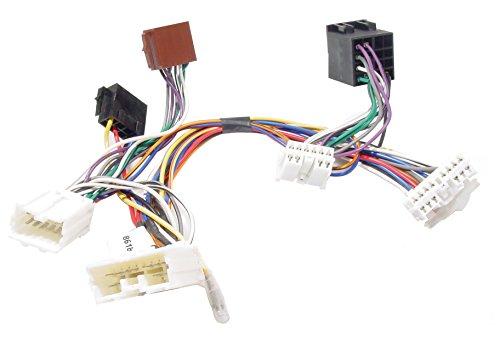 KRAM-ISO2CAR-Mute-Adapter-Volvo-850960-SV40-SVC-70-2000-adaptador-de-cable-Adaptador-para-cable-SVC-70-2000-Machohembra-De-plstico