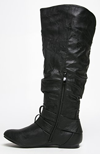 Nature Breeze, Damen Stiefel & Stiefeletten Schwarz