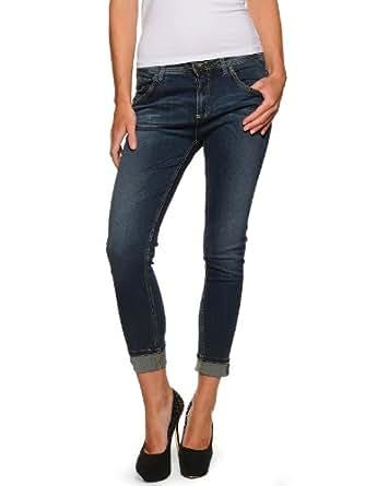 Benetton Jeans 7/8 31, bleu