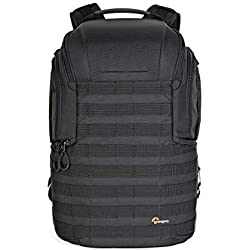 Lowepro ProTactic 450 AW II Black Pro Modular Backpack with All Weather Cover for Laptop Up to 15 Inch, Tablet, Canon/Sony Alpha/Nikon DSLR, Mirrorless CSC and DJI Mavic Drones LP37177-PWW