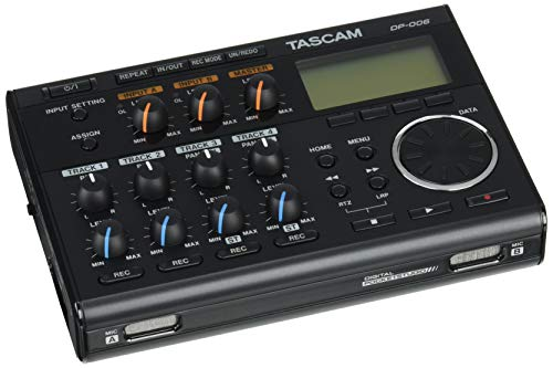 Tascam DP-006 - Digitales 6-Spur-Pocketstudio