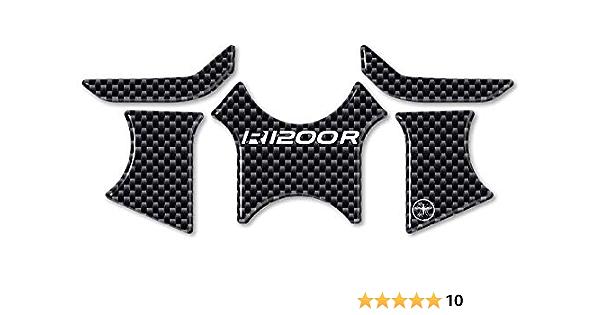 Protection 3d Gel Gabelplatte Kompatibel Für Motorrad Bmw R1200r Bis 2015 Auto
