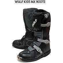 Moto Bambini stivali lunghi - bambini wulfsport stivali moto MX