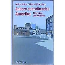 Anders schreibendes Amerika: Québec-Anthologie