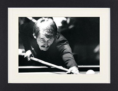 1art1 113891 Billard - Wolfgang Zenkner, Carambolage, Europameisterschaft 1986 Gerahmtes Poster Für Fans und Sammler 40 x 30 cm (1986 Poster)