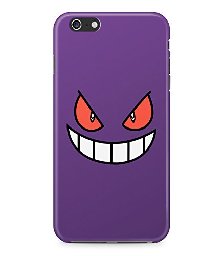 Gengar Sinister Grin Face Nightmare Face Hard Plastic Snap On Back Case Cover For Iphone 6 Custodia