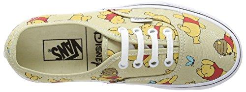 Vans Authentic, Sneaker Unisex – Adulto Multicolor (Disney - Winnie The Pooh/Light Khaki)